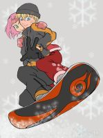 NaruSaku - Winter... romance? by OrangeLily