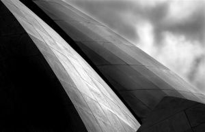Lotus Temple Abstract by y-me