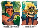 Aztec Portraits by TheArtfulMegalodon