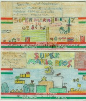 Super Mario Bros Mail Art 2 by LordPatamon