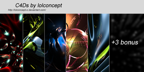 C4D pack by lolconcept-o