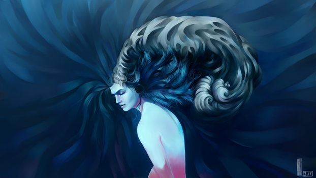 SIlence | Made In Krita by MarTs-Art
