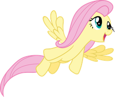 Fluttershy  Flying   Filli Vanilli by Vulthuryol00