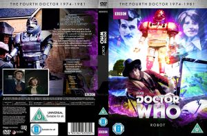 Doctor Who Robot custom DVD cover. by GrantBattersby