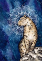 Snow leopard by ZoeSotet