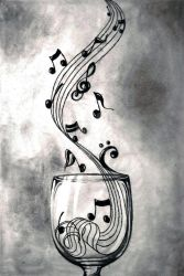 Music in a Glass by Pantheryx