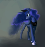 Luna by DiscordTheTrollest