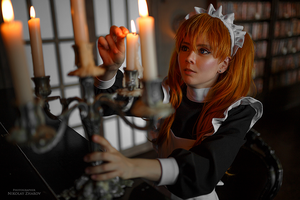 Asuka maid. Alternative home VII by TaisiaFlyagina