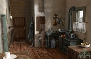 Apartment concept 2/2 by Feivelyn