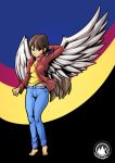 Winged Girl 2.0 by mysticalpha