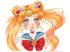 Sailor Moon by FinaSusu