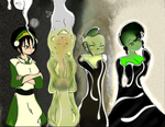 Color Test Toph Slime Transformation V3 by Slime-Series