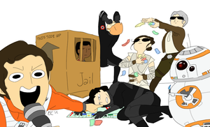 Star Wars Monopoly (Draw Your OCs Like) by Terralain