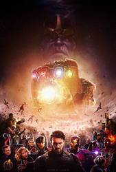 Avengers: Infinity War (2018) - Poster by CAMW1N