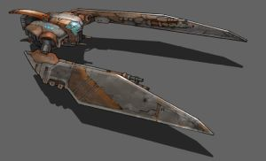 baddie spaceship concept by liamgalvin