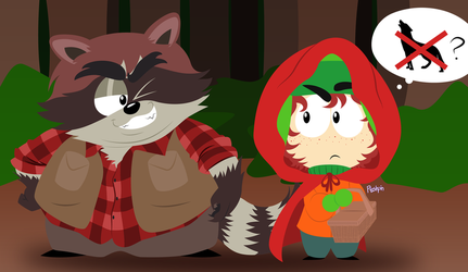 Little Red Riding Kyle by Pooshpin