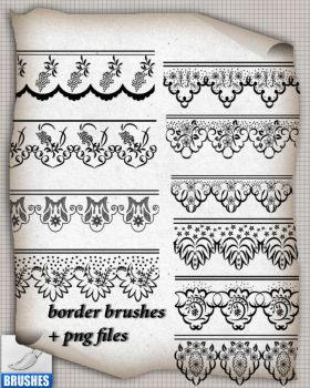 Borders Brushes 014 by roula33