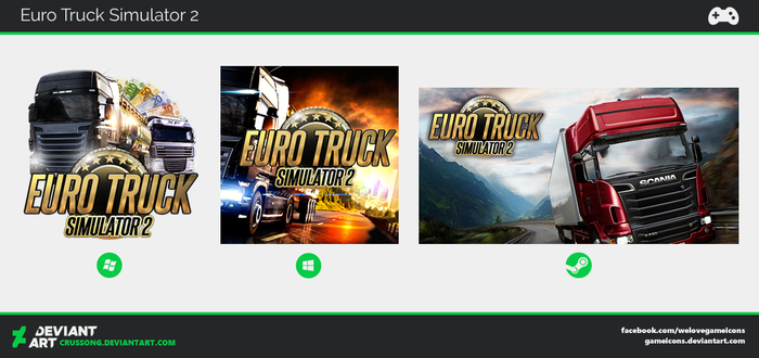 Euro Truck Simulator 2 - Icon by Crussong