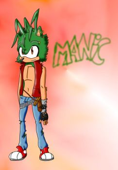 manic digitalness by Checkerthehedgehog