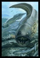 John Sibbick Dunkleosteus by DSil