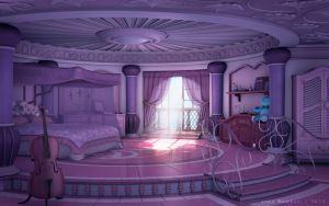 Princess' Room [day] by JakeBowkett