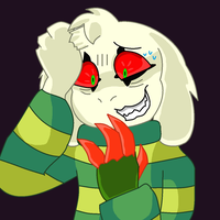 Keep it together Asriel... by Jaders75