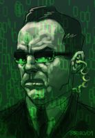 Agent Smith by sobreiro