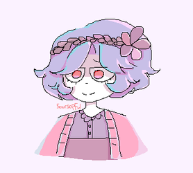 OwO who's this pastel lady by Soursopful