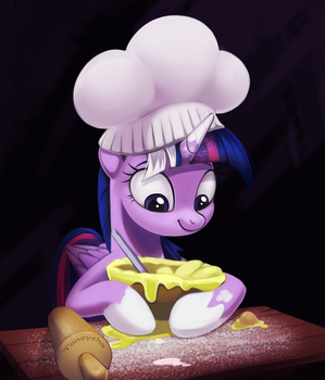 Twilight cooking potato muffins by Taneysha