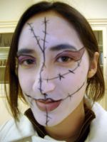 Haunted House Makeup 4 by Mystitat