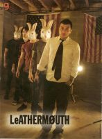 leathermouth poster by justanightmare