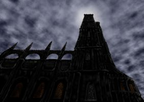 Doom Cathedral by dracontologe