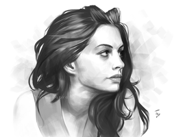 Anne Hathaway by Thubakabra