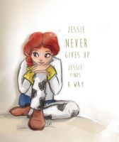Jessie Never Gives Up by Lightyear90