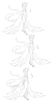 Elsacuno Design (Sketches) by GoldenPlume