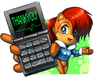 Sally Thank You by RisenArt