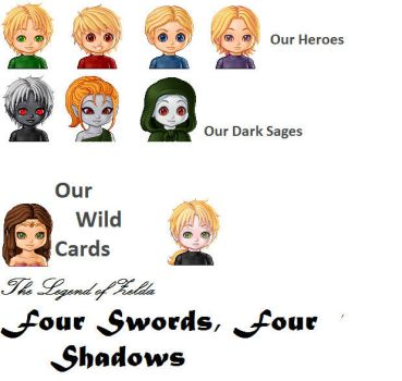 Four Swords Four Shadows Intro by Zelda12343