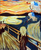 The Scream w Commitment Issues by Greyhanded