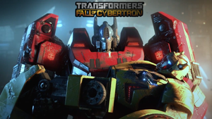 TF FAll of Cybertron Promo Wallpaper by Reploid-Assassin