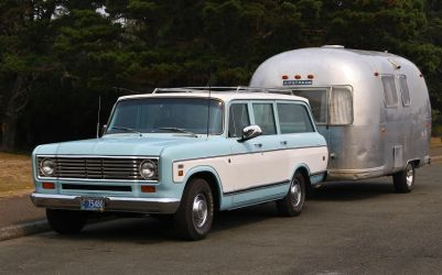 International Travelall with Airstream by finhead4ever
