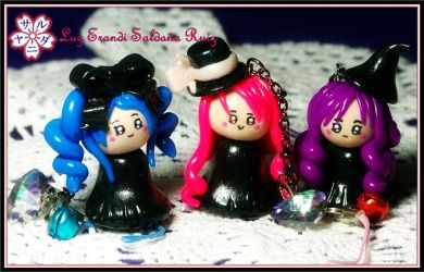 Kawaii little witches by Sarudanya