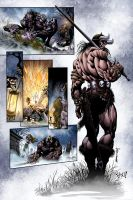 Conan: Kiss of the Undead 8 by MarkHRoberts