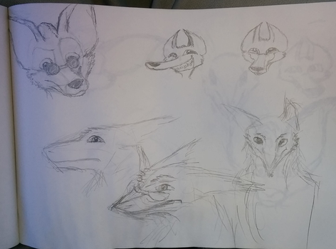 Yet more sketches by SpiffyFox