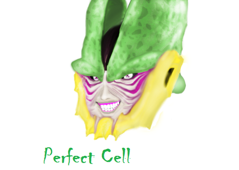 Perfect Cell(Realistic) by Dinomorph5000