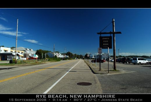 Jenness State Beach, NH 1-A by PhotographyByIsh