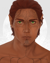 [Commission] Valasan Lavellan by hellenys