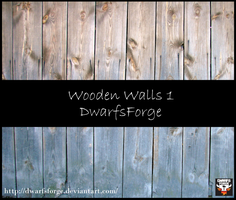 Wooden Walls Pack 1 by DwarfsForge