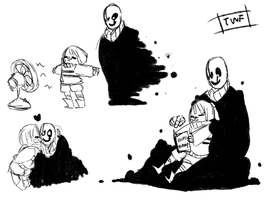 Fun Times With Goopy Gaster Pt2 by theweirdfellow