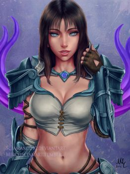 Nemesis (without hood blind) - Smite by Sciamano240