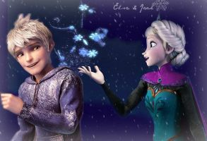 Elsa And Jack by trollinlikeabitchtit